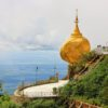Pagoda-golden-rock-Myanma